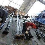 Heller Stahlpole für Solar- und Electrity Beleuchtung