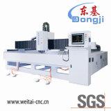 Máquina de cristal triaxial horizontal del ribete de la dimensión de una variable del CNC