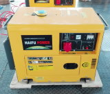 6.5kVA Air Cooled Single Cylinder Portable Silent Diesel Generator SetかGenerator