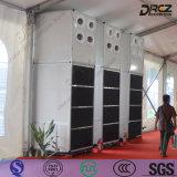 Tipo compacto suelo que coloca el acondicionador de aire central comercial del refrigerador industrial de poco ruido