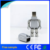 Lecteur flash USB frais de robot en métal de cadeau (Jm158)