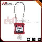 Cadeado de aço flexível da segurança do cabo com comprimento de cabo 175mm