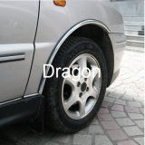 Arco protetor da roda de carro da guarnição do cromo
