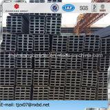 Tamaños de acero del canal universal del estándar del GB/JIS para la estructura de edificio de acero