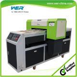 백색 잉크 순환 시스템을%s 가진 59inch A1 체재 평상형 트레일러 LED UV 인쇄 기계