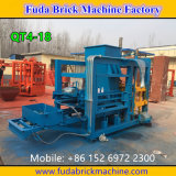 Het automatische Concrete Blok die van de Betonmolen de Prijs Qt4-18 maken van de Machine