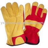 Перчатка Перчатк-Безопасности кожаный Перчатк-Руки сада Перчатк-Дешевая Перчатк-Работая