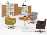 Tavolo di riunione di vetro di vetro rettangolare della Tabella di congresso delle forniture di ufficio piccolo (HF-LB17)