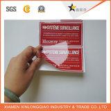 Autoadesivo trasparente stampato di carta della modifica di lucentezza di stampa autoadesiva del contrassegno