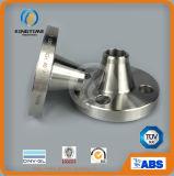 Bride de collet de soudure d'acier inoxydable de la classe 150lb avec le service d'OEM (KT0004)