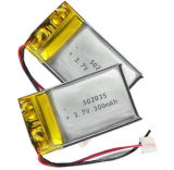Li-Ionplastik-Batterie 3.7V 042035 200mAh