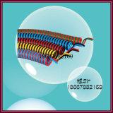 Tubo flessibile di plastica di ritrazione di PA del tubo flessibile della molla