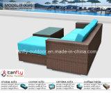 Ротанга PE рамки Китая мебель сада алюминиевого Wicker напольная