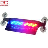 Rote blaue warnende Blenden-Leuchte des Träger-LED (SL661-V BR)