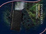 Importierte Qualitäts-Rindleder-Leder-Mann-Mappen-echtes Leder-Mappe