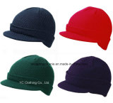 Chapeau de tricotage d'hiver en gros/chapeau tricoté