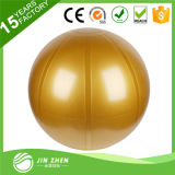 La bola de la aptitud de la venta al por mayor de la bola de la yoga con insignia imprimió para Exercsie al aire libre