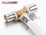 Pressionar tubulação de bronze apropriada da imprensa/Al-Pex/encaixe de bronze da imprensa para as tubulações do Pex-Al-Pex