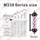 Heet verkoop M339 de Zwarte Roterende Winkel Pool van de Kapper