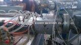Machine pour produire des profils pour la construction faite de PVC