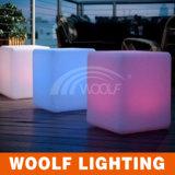 Presidenza del cubo illuminata mobilia del cubo LED del LED
