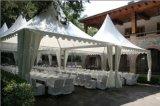 옥외 정원 PVC 직물 알루미늄 프레임 Pagoda 천막