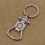 亜鉛合金最も新しい型の栓抜きのキーホルダーの習慣の販売