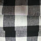 ワイシャツまたは服Rlslc32-5のための麻布か綿によって編まれるL/Cヤーンによって染められるファブリック