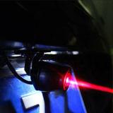 Lampe automatique a posteriori anti-collision de stationnement de frein de lumière de brouillard de queue de laser de voiture de la plus nouvelle moto élevant le voyant d'alarme