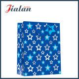 Nach Maß heiße stempelnde Stern-Form-Einkaufen-Geschenk-Papier-Handtaschen