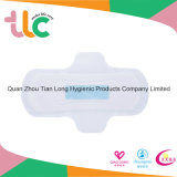 Serviette hygiénique ultra-mince, garniture menstruelle de coton pur de 100%