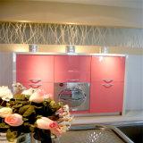 Module de cuisine rose à haute brillance de peinture du type 2016 moderne neuf