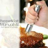 Smerigliatrice di pepe manuale del sale dell'acciaio inossidabile di alta qualità