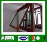 Guichet en aluminium Windows en aluminium Pnoc0120thw de tente glacé par double