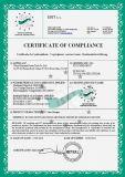 Camion de fumier de la brouette 4WD de pouvoir avec le certificat de la CE