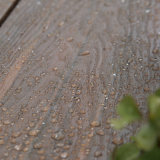 Decking composto plástico de madeira impermeável ao ar livre
