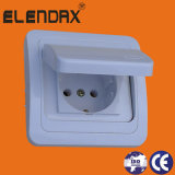 Schuko Socket Outlet mit Waterproof