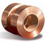 Tira composta de aço revestida de cobre