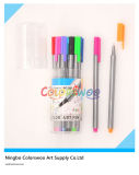 KidsおよびStudentsのための12 PCS Classic Triangular Sharp Fine Liner Pen