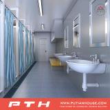 Project van de Zaal van de Douche van het Toilet van de container het Openbare in Gabon