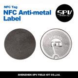 Het Etiket Ntag213 HF ISO14443A van het anti-Metaal van Nfc