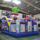 Bouncer inflável do teatro inflável inflável inflável da casa do salto dos estrangeiros do UFO