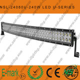 240W DEL Light Incurvé-U par CREE Bar hors de Road, Spot/Flood/éclairage LED combiné Bar hors de Road Driving