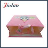 분홍색 올빼미 동물성 만화 디자인은 3D에 의하여 인쇄된 종이 봉지를 주문을 받아서 만든다