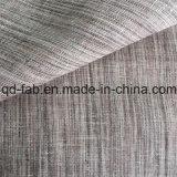Tejido de lino teñido con lazo caliente de la venta (QF16-2475)