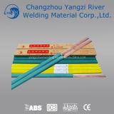 Precio ER70S-6 plástico bobina de alambre de soldadura de fábrica