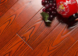 설계된 오래된 목제 마루 또는 개선된 느릅나무 나무 지면