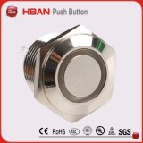 16mm geleuchteter Drucktastenschalter