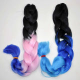 Ombre Kanekalon Braid Hair Heave Extension de cheveux synthétiques Lbh 035