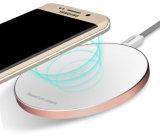 De nieuwe Draadloze Lader van Qi van het Metaal van de Aankomst voor de Melkweg van Samsung S6/S6 Rand/Samenhang/iPhone/HTC